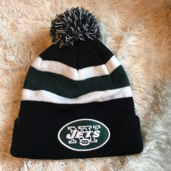 589a924f2c9c8f NFL Accessories | New York Jets Beanie Hat | Poshmark